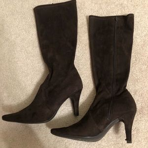 Kenneth Cole Reaction Shoes - Brown suede boots